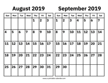 Printable Calendar 2020 - Simple & Useful Printable Calendars