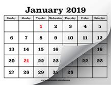 printable calendar 2019 simple useful printable calendars