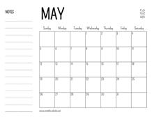 May 2019 Calendars – Printable Calendar 2019