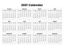 The Best 2021 Calendar